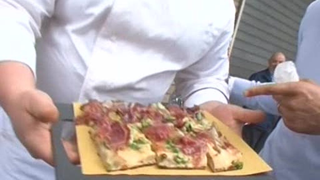 Roma: La rica pizza italiana