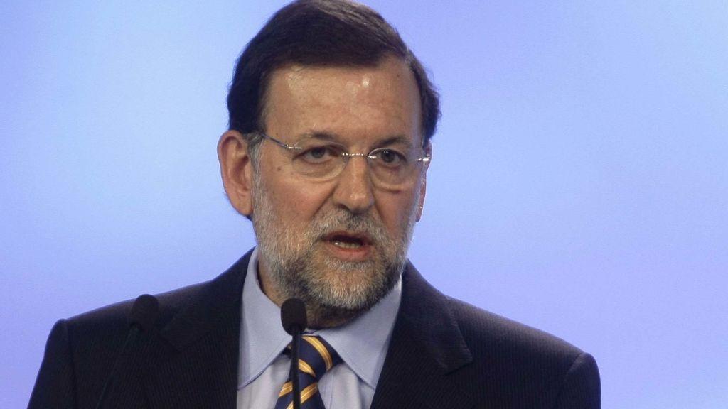 Mariano Rajoy, líder popular