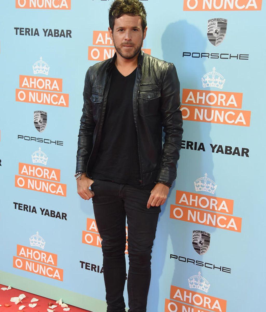 Pablo López y su chaqueta de cuero negra