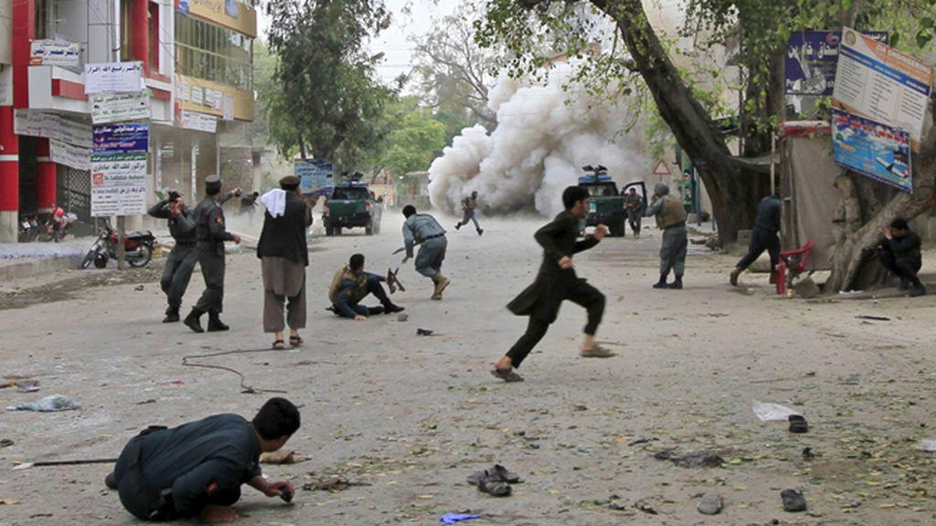 Atentado del estado islámico en Jalalabad, Afganistán.