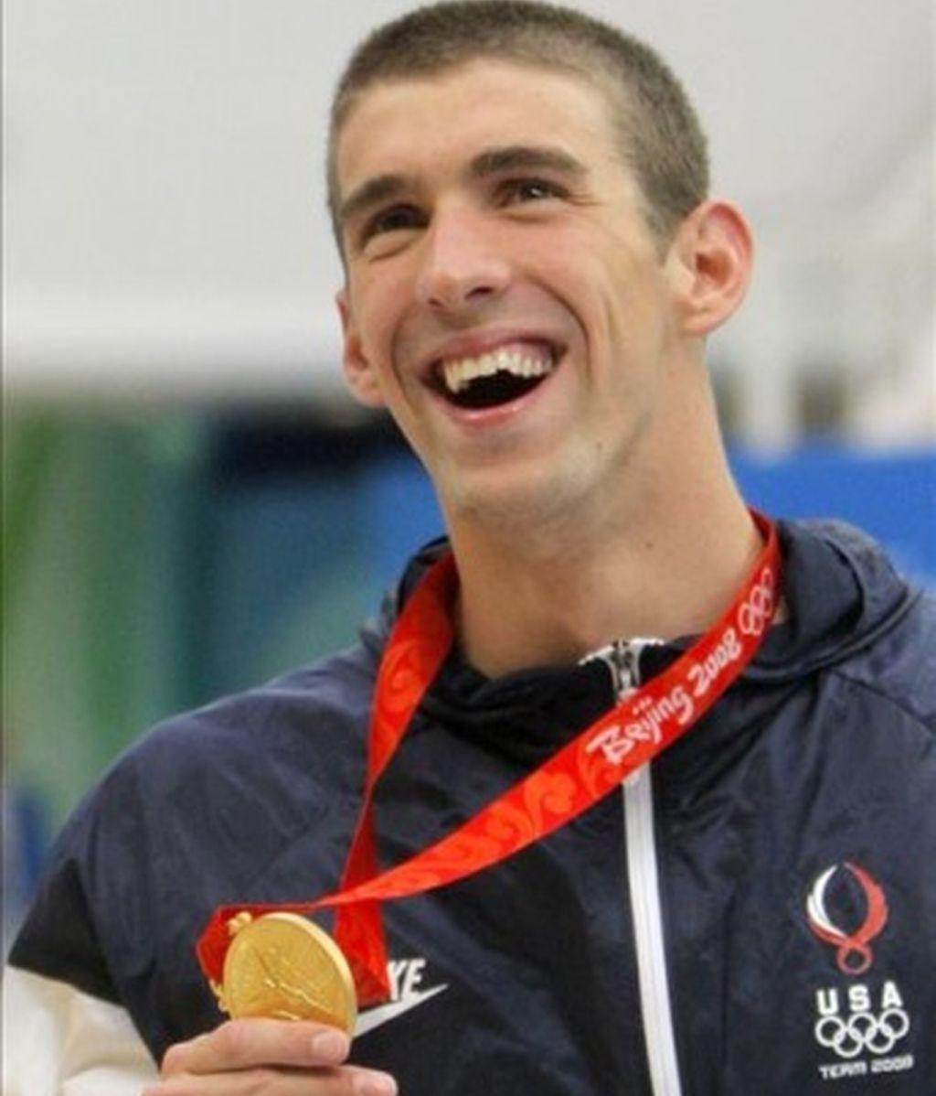 Séptimo oro para Phelps en 100 metros mariposa