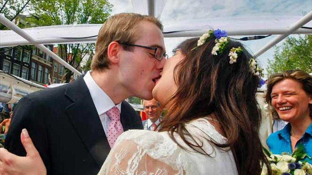 Unos recién casados