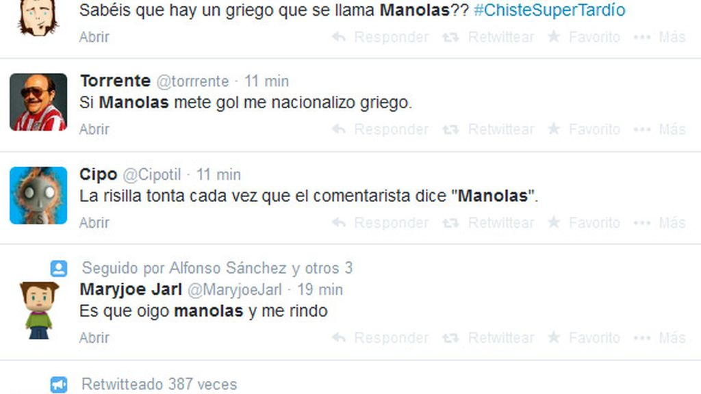 tweets manolas