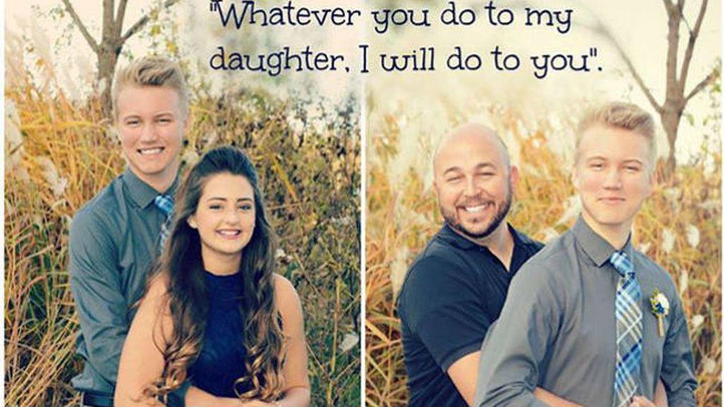 La advertencia de un padre al novio de su hija se hace viral