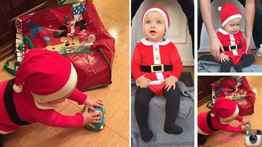 El 'sunshine' de Iker Casillas se convierte en un pequeño Santa Claus