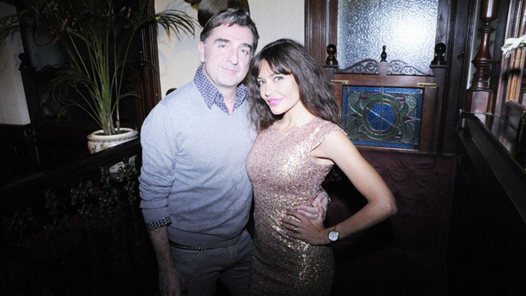 """José Luis y Patricia Pérez, también con vestido de """"Exótica"""""""