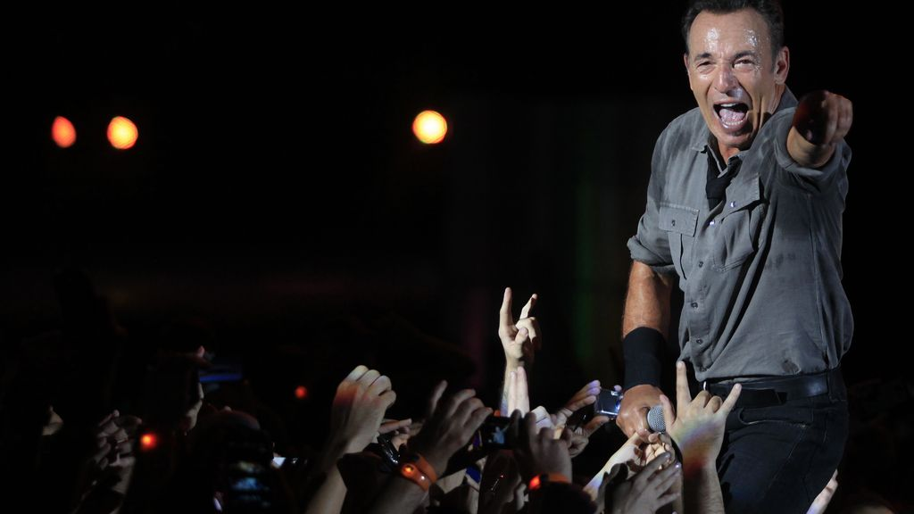 Bruce Springsteen, Copa del Rey, Real Madrid