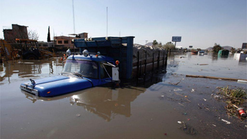 Las lluvias en México provocan 28 muertos