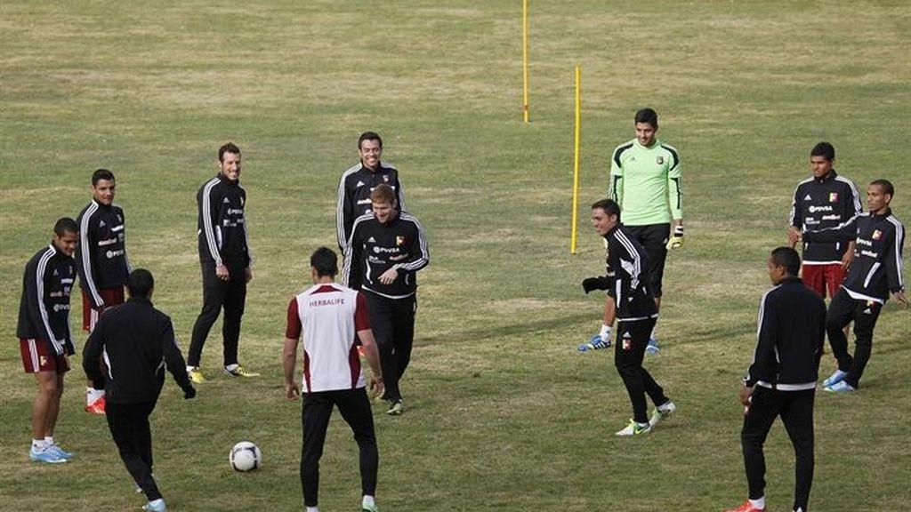 Veinte jugadores de la selección venezolana sufren una infección estomacal