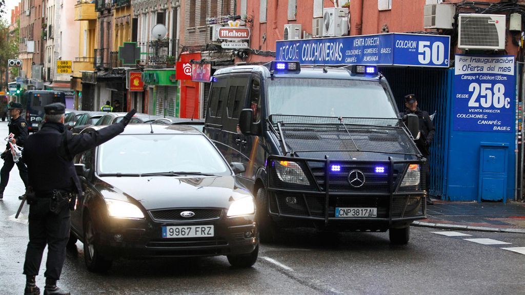 La Policía detiene en Madrid a tres miembros de un grupo vinculado al Estado Islámico