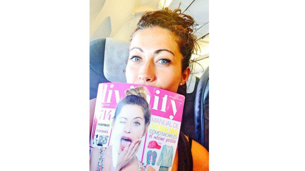 La foto de Olga (Madrid) para el concurso 'Envíanos tu selfie con la Revista Divinity'