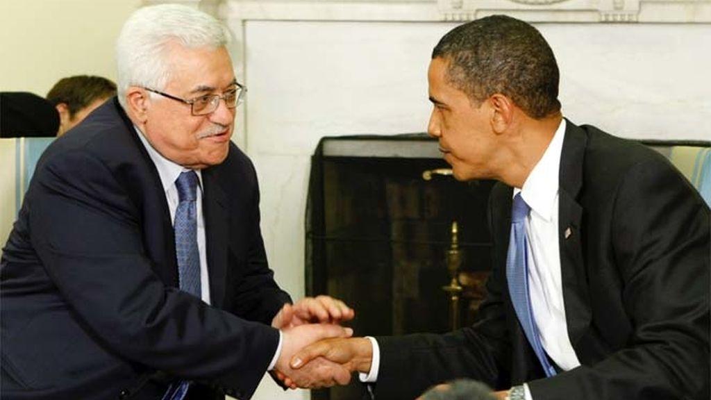 Obama apoya a Abbas