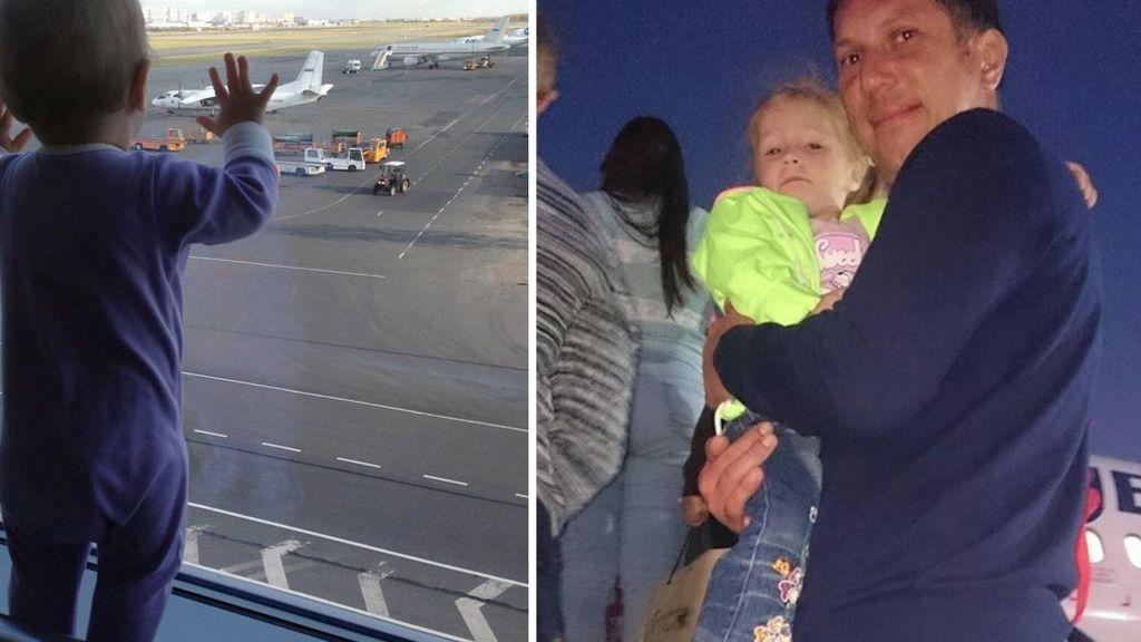 Dos de los 17 niños fallecidos en el accidente aéreo
