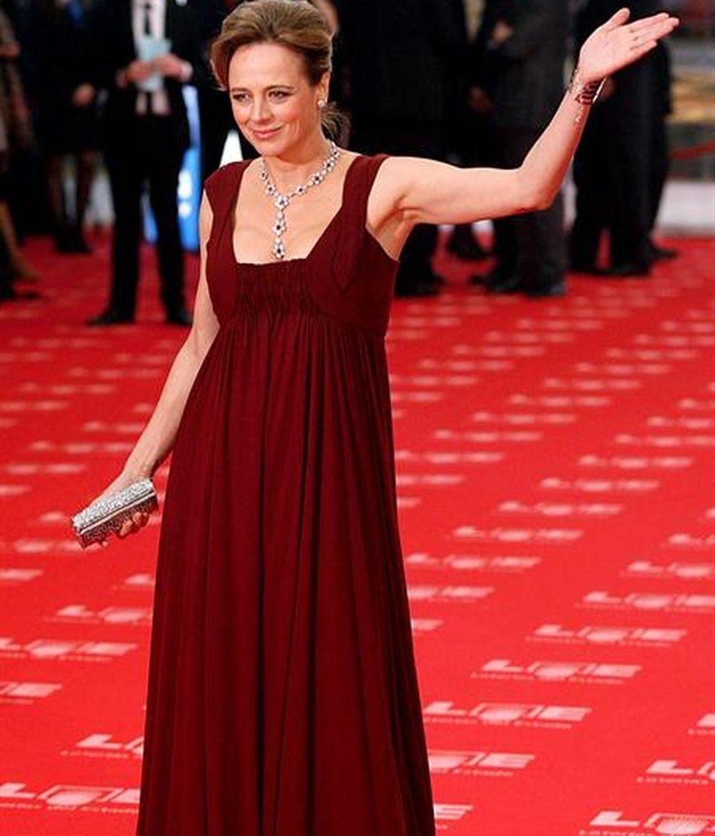Comentamos los vestidos de los Goya con Carmen Lomana