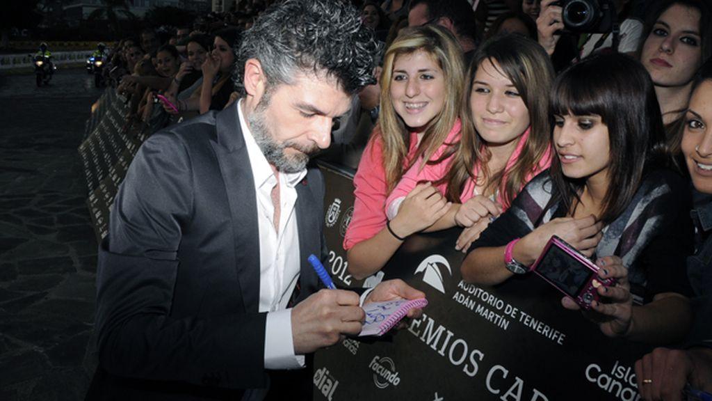 """Nacho Guerreros, el popular Coque de """"La que se avecina"""", no paró de firmar autógrafos a sus fans"""
