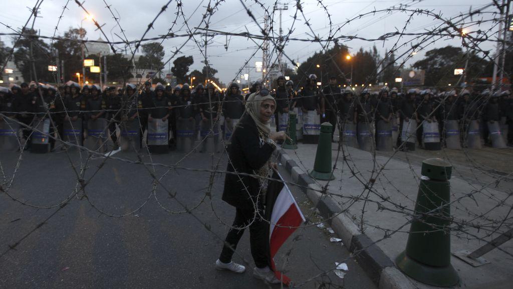 Protestas contra Mursi en El Cairo