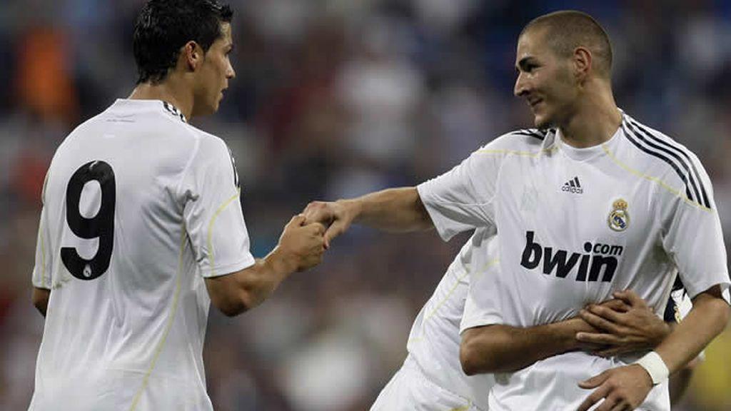 Benzema y Cristiano