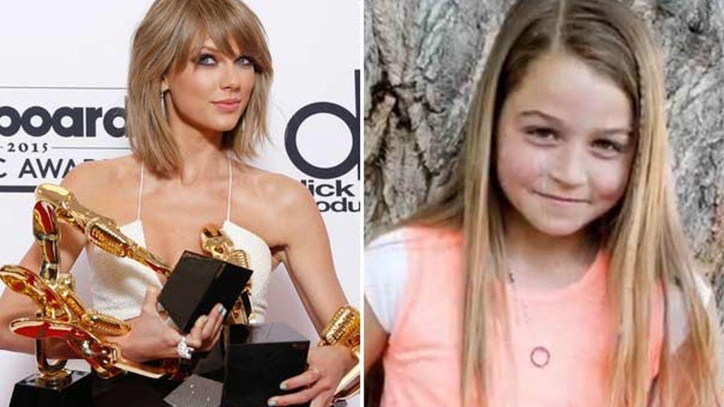 Taylor Swift y Naomi Oakes