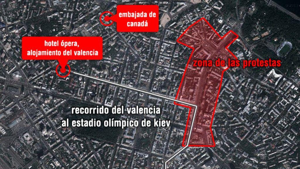 Valencia en Kiev