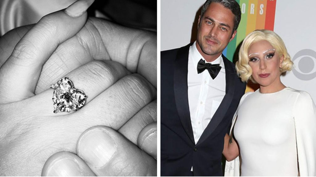 Lady Gaga se compromete con su novio