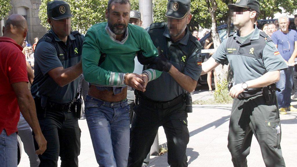 El presunto parricida de Moraña a disposición judicial