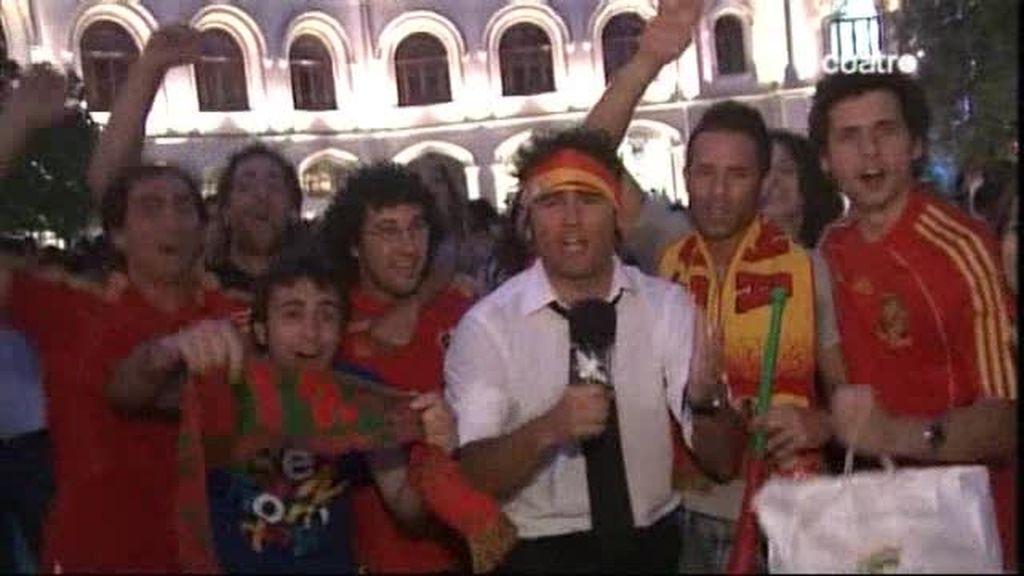 Así vivieron en Portugal su derrota