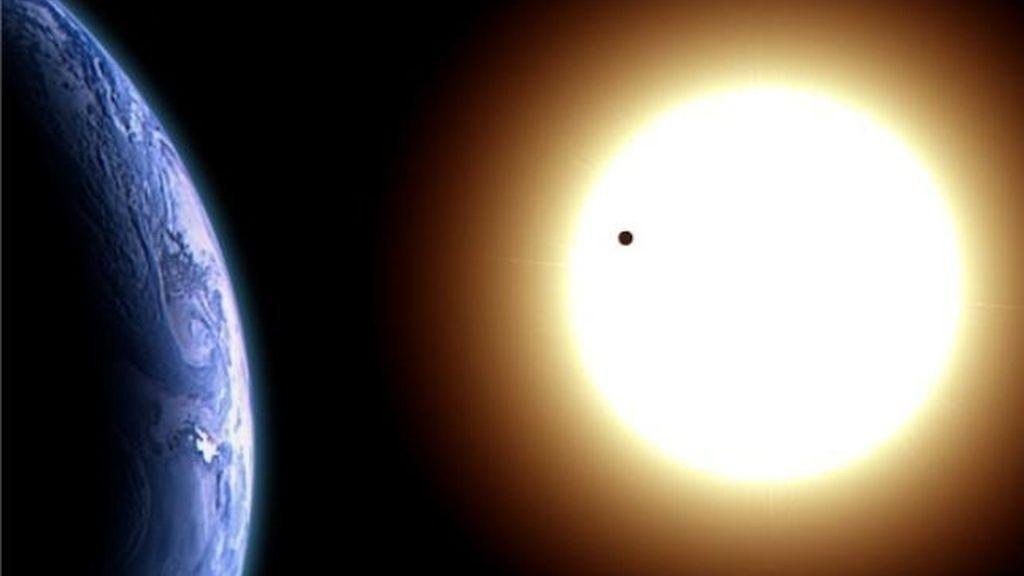 Venus pasa por delante del Sol