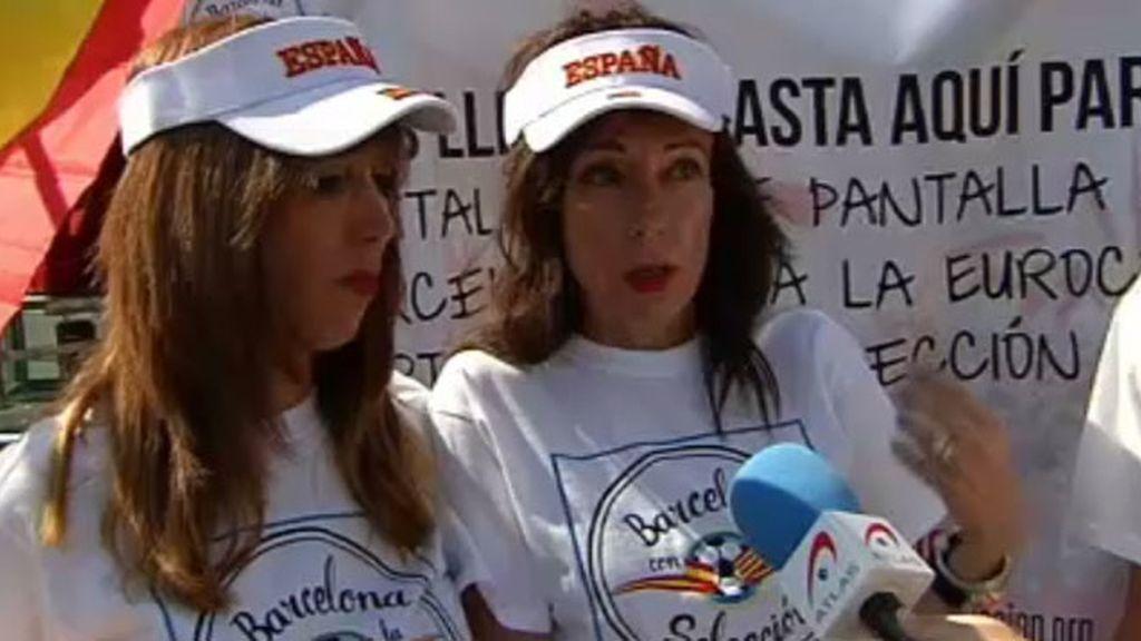 Maria Rosa y Ruth de Barcelona por la Selección