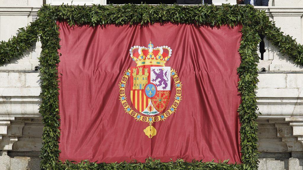 El escudo de Felipe VI