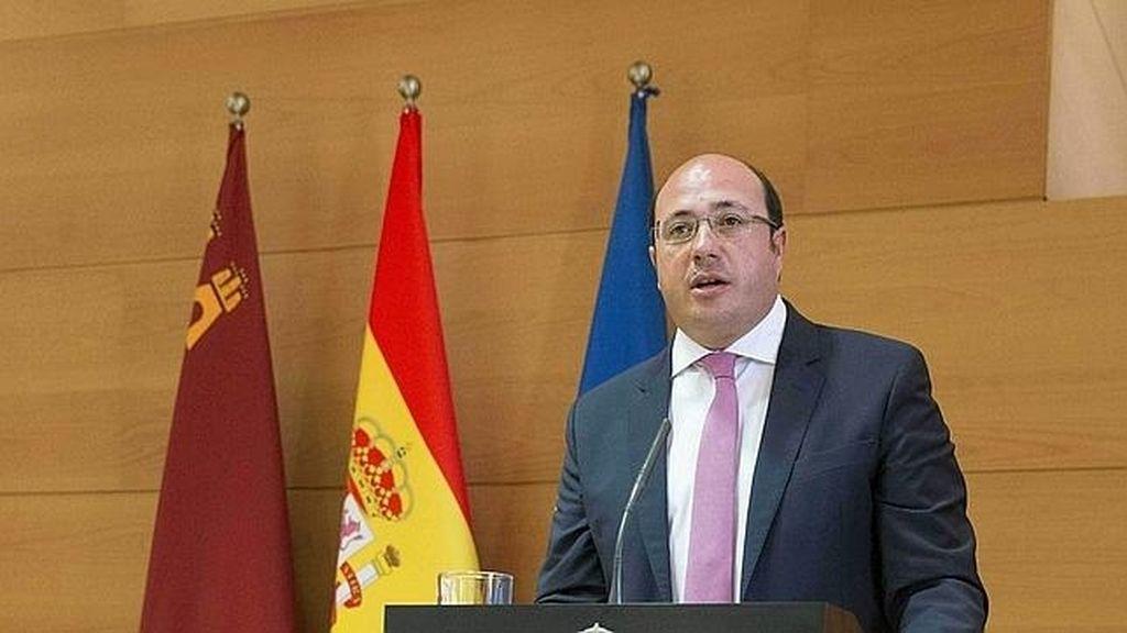Pedro Antonio Sánchez, actual presidente de Murcia