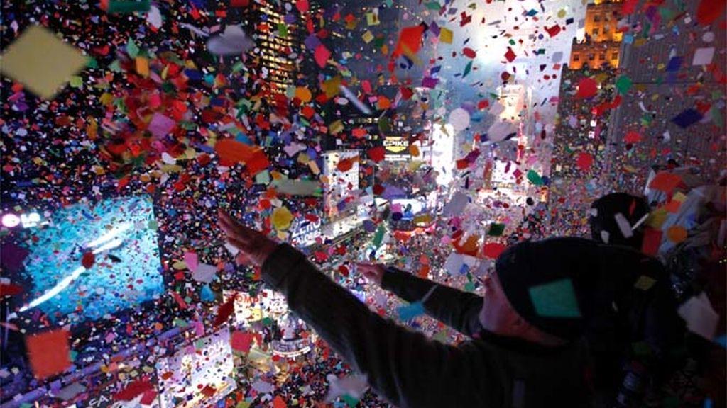 Celebraciones de Año Nuevo en Nueva York