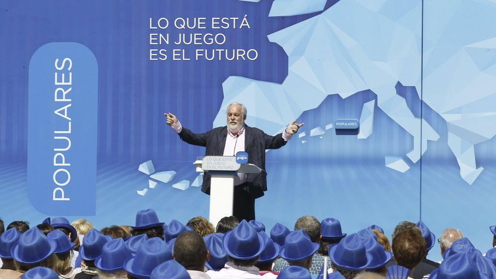 Miguel Arias Cañete, en campaña