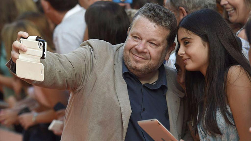 El cocinero más televisivo, Chicote, también practicó el 'selfie'