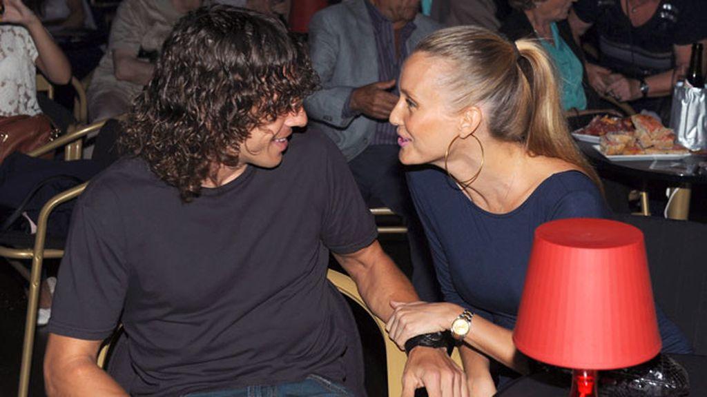 Vanessa y Puyol