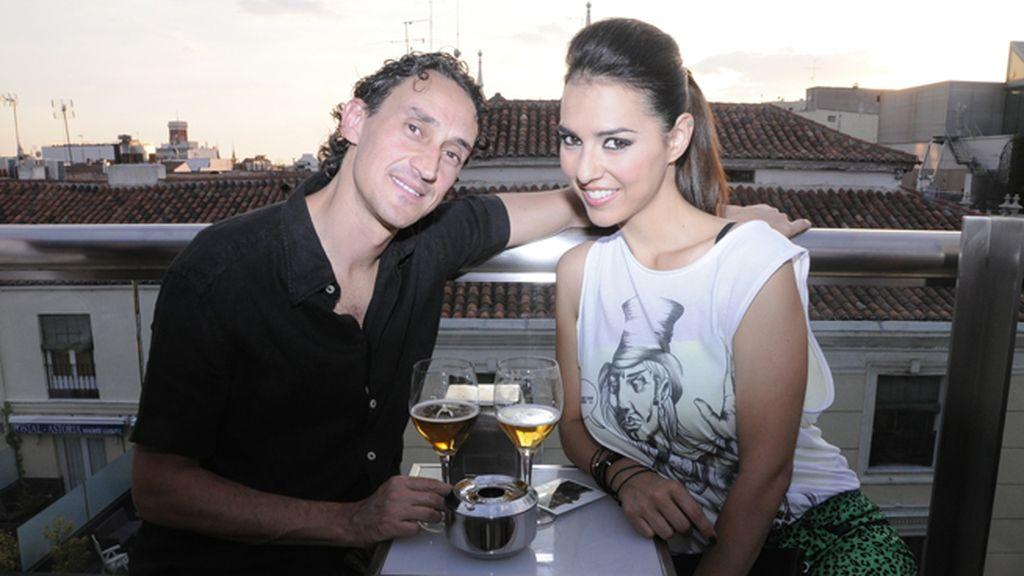 """Cristina Brondo y su marido, el director y guionista Diego Yaker, que acaba de rodar """"Pecados"""" con Carmelo Gómez"""