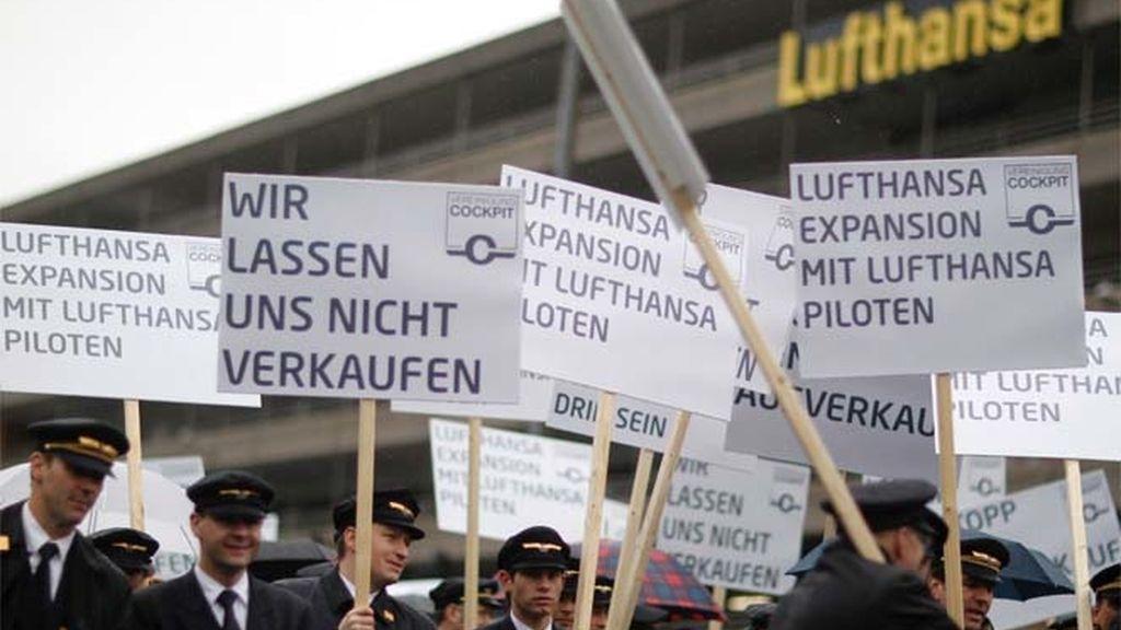 Huelga de pilotos en Lufthansa