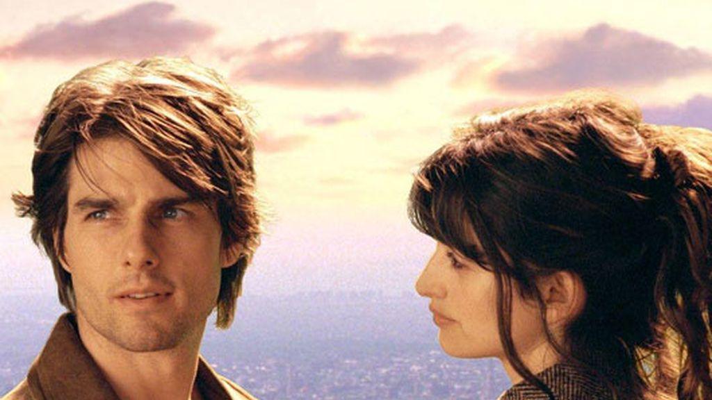 Con Tom Cruise en Vanilla Sky