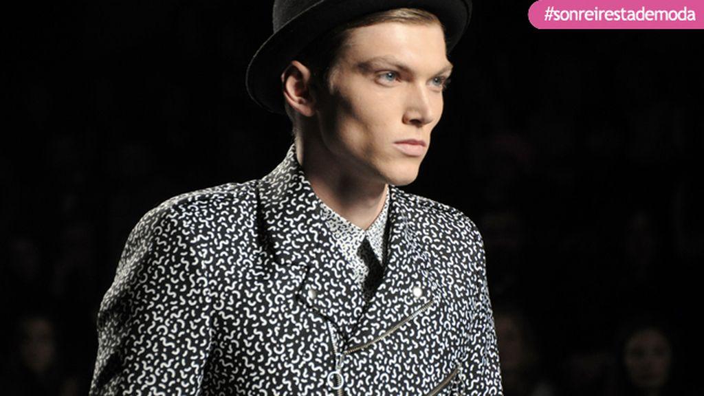 Charlie Centa fue uno de los modelos encargados de descubrirnos lo nuevo de David Delfín
