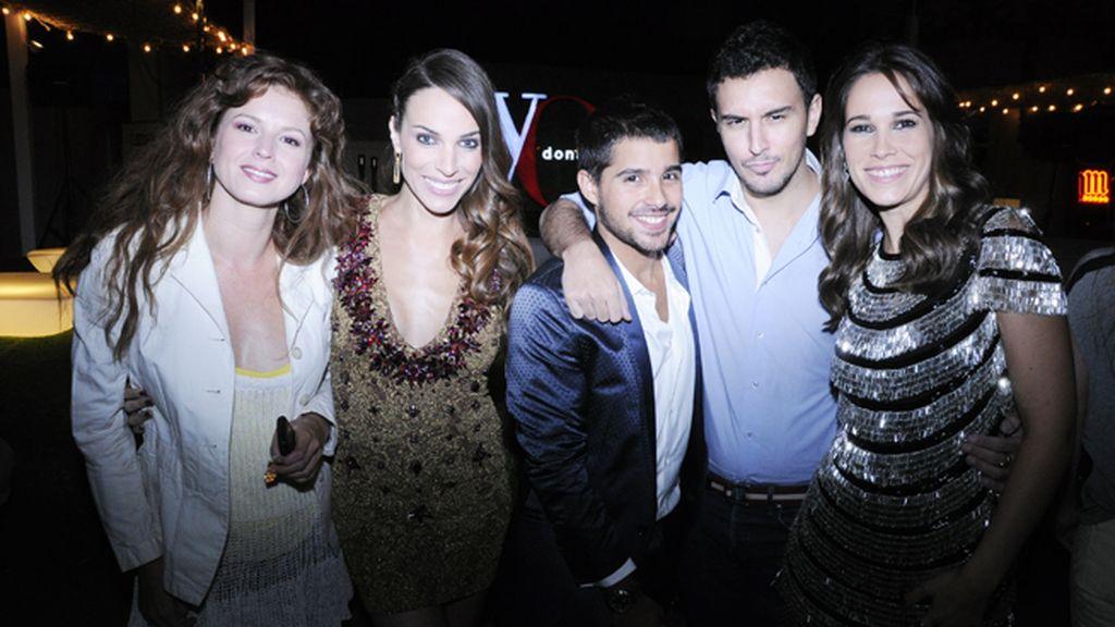 Marián Aguilera, Nerea Garmendia, Samuel Arguinzana, Victor Blanco y Celia Freijeiro