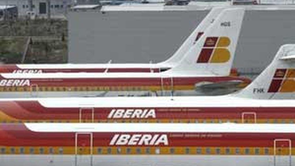 Iberia sigue acumulando retrasos. Vídeo: ATLAS