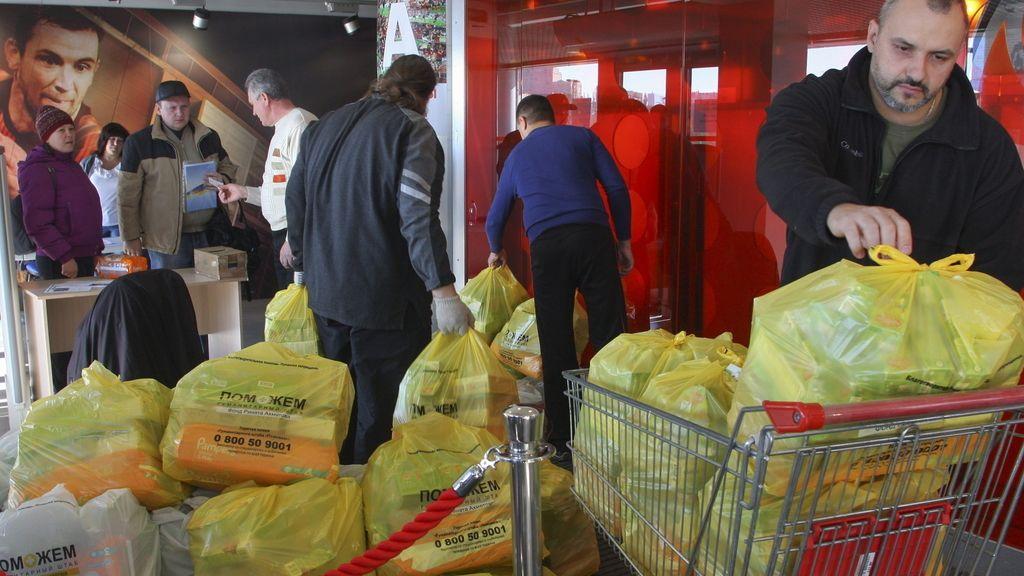 Ayuda humanitaria para Ucrania