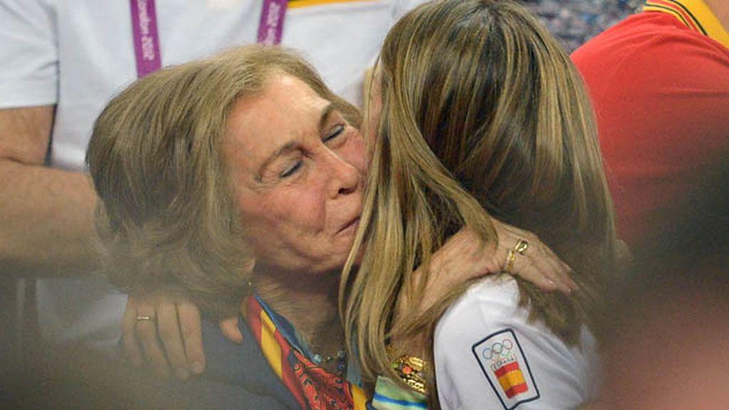 Familiar: Doña Sofía y Doña Letizia en los Juegos Olímpicos de Londres