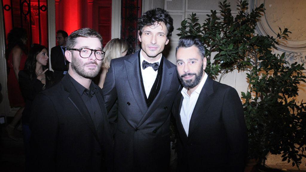 Jeff Bargues, Andrés Velencoso y Juanjo Oliva