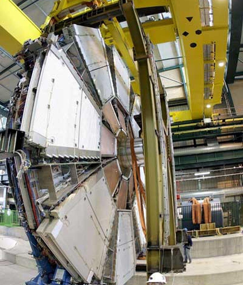 Primeros pasos del LHC