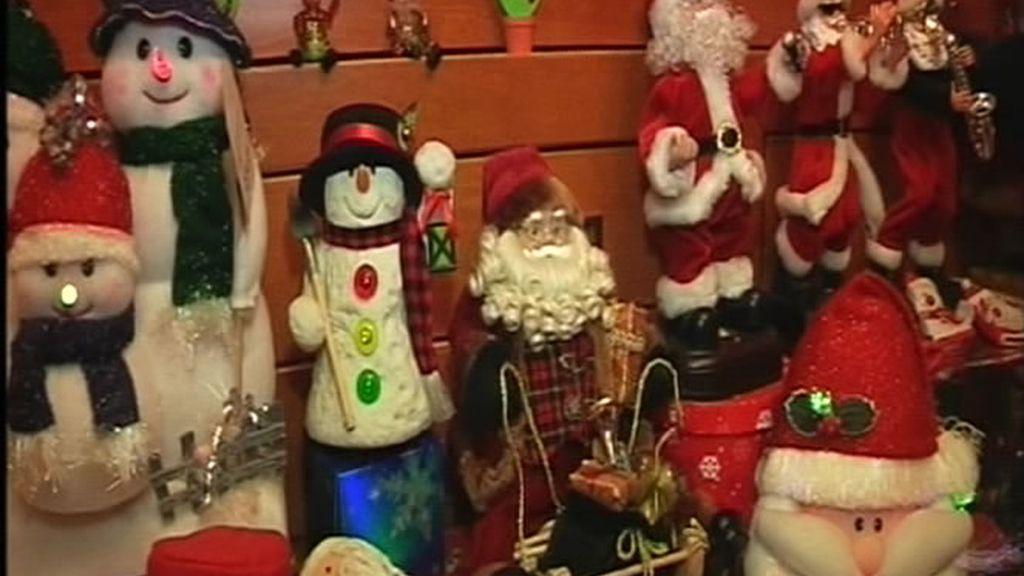 Productos navideños cien por cien artesanales