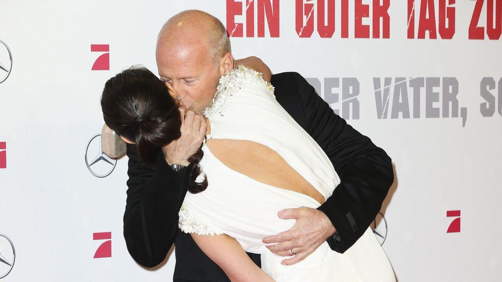 No se cortan un pelo: Bruce Willis y su mujer, Paula y Bustamante...