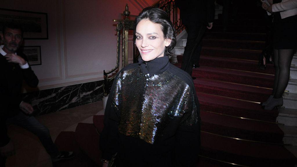 Laura Ponte, más que guapa con este look de Miguel Palacio