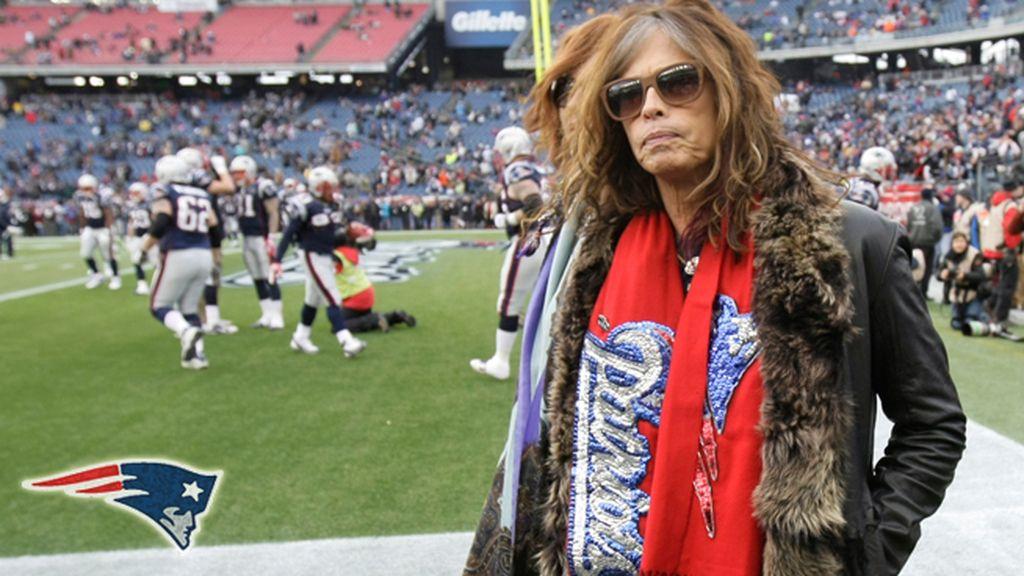 Steven Tyler, rock and roll en la Superbowl – Patriots