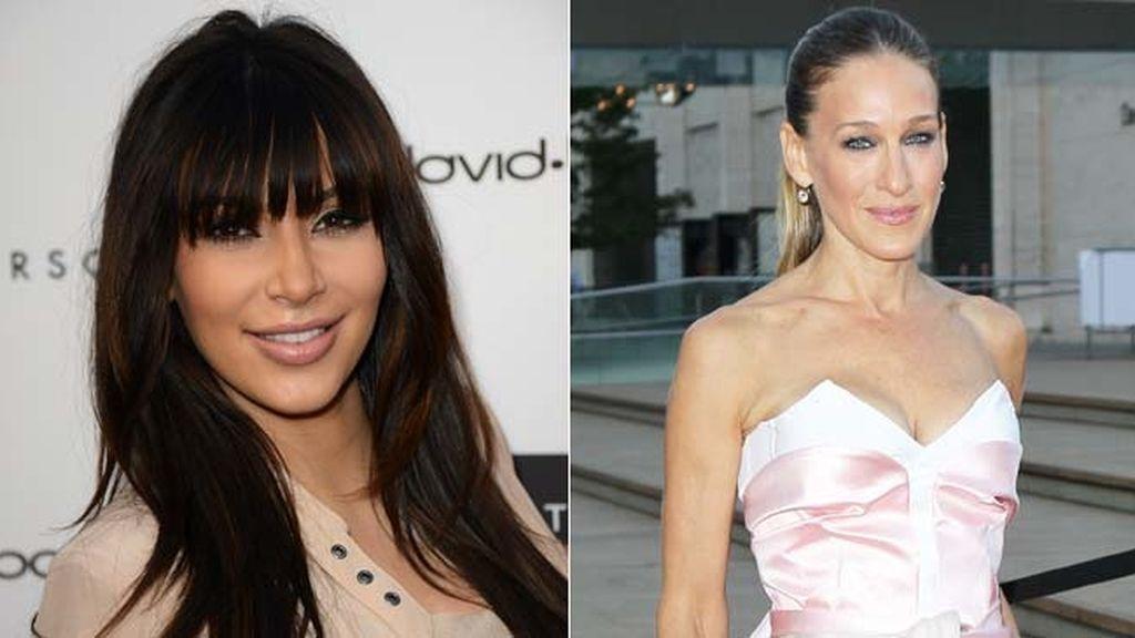 Kim Kardashian quiere ser Sarah Jessica Parker