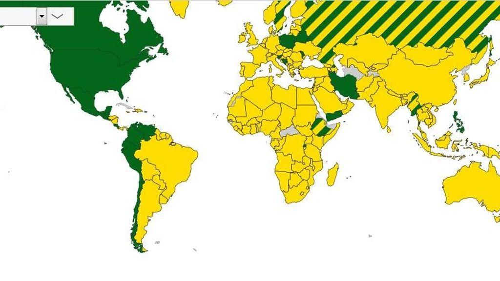 mapa brasil méxico